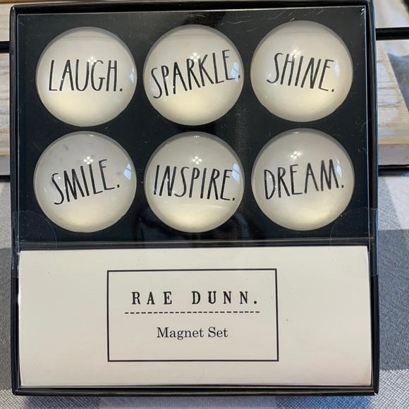 Rae Dunn magnet set of 6